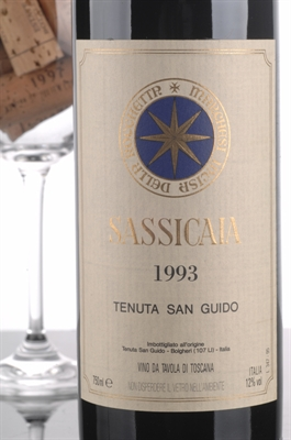 Picture of Tenuta San Guido Sassicaia 1993