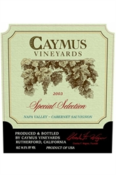 Picture of Caymus Vineyards Special Selection 1995